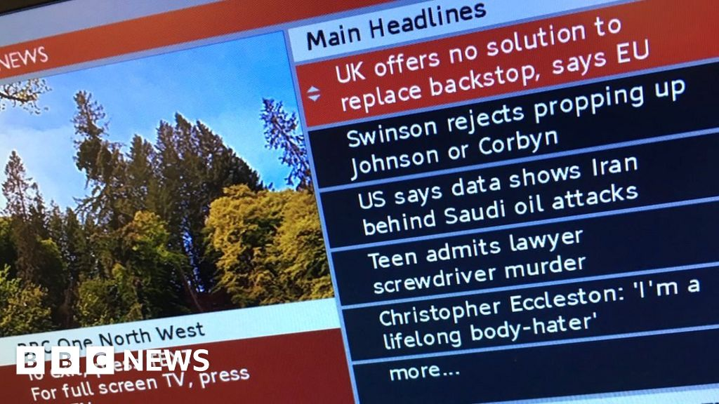 BBC red button protest ahead of switch-off