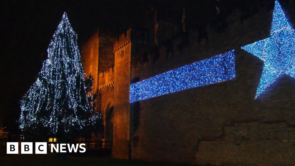 - No Tree In Time For Cardiff Christmas Lights Switch On - BBC News