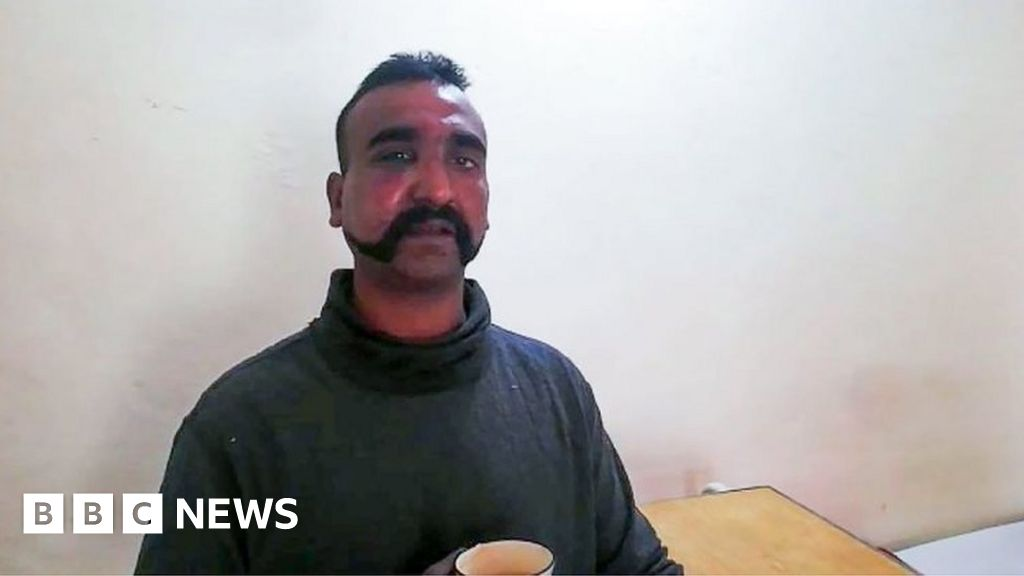 Who is captured Indian pilot Abhinandan?