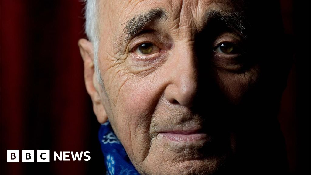 Six of the best Charles Aznavour songs - BBC News