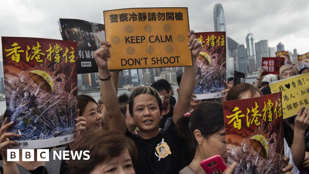 Hong Kong protesters using Bluetooth app