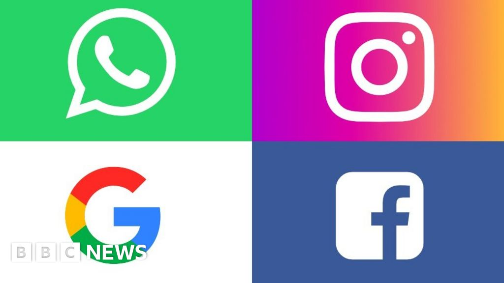 Google and Facebook accused of breaking GDPR laws