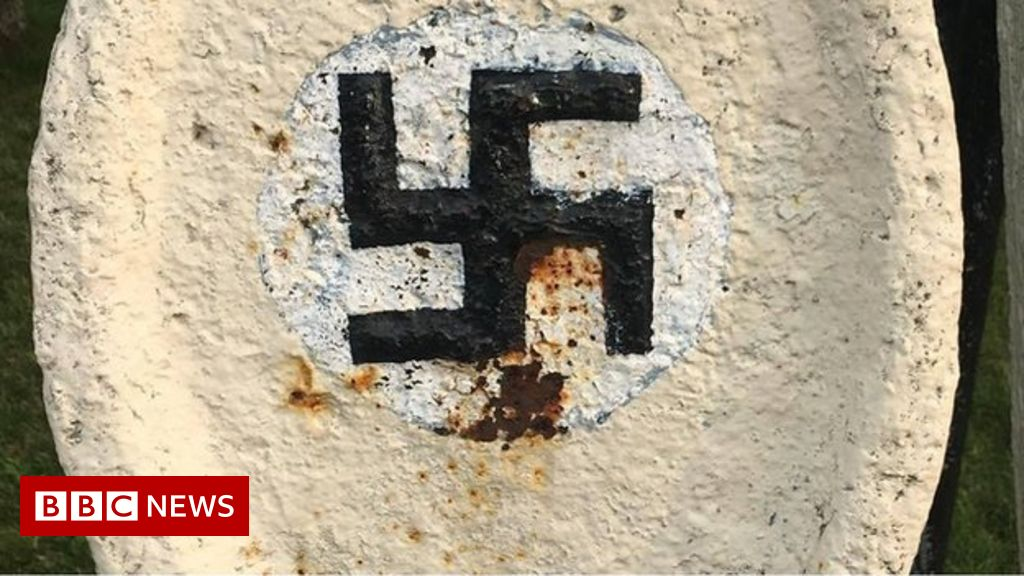Canadian Town Refuses To Remove Swastikas From Park Bbc News