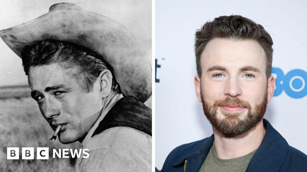 James Dean CGI  casting  angers Avengers star Chris Evans