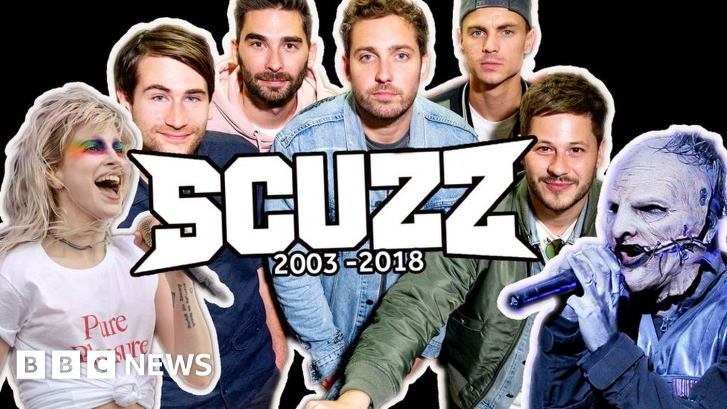 The legacy of rock channel Scuzz TV