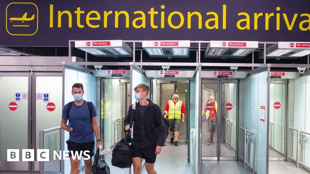 UK 'made serious mistake' over virus border policy