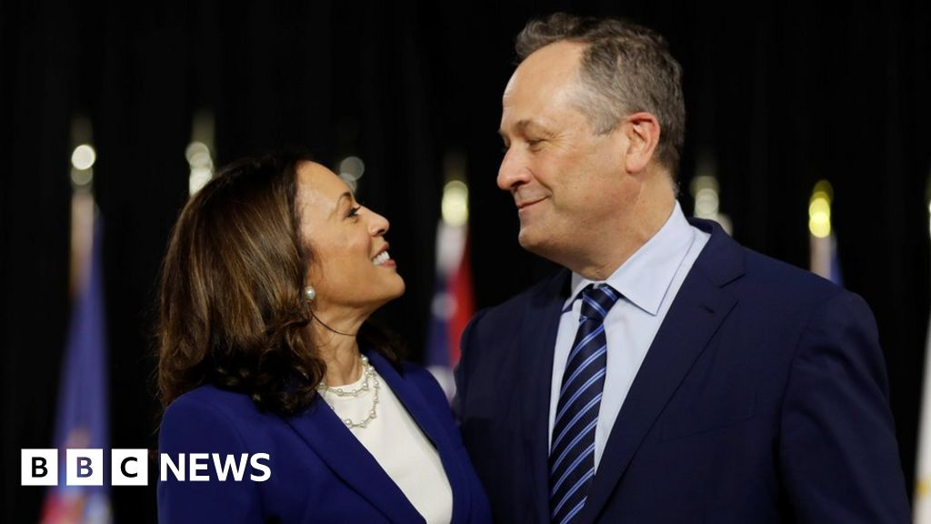 Kamala Harris S Husband And Potential Second Gentleman Bbc News