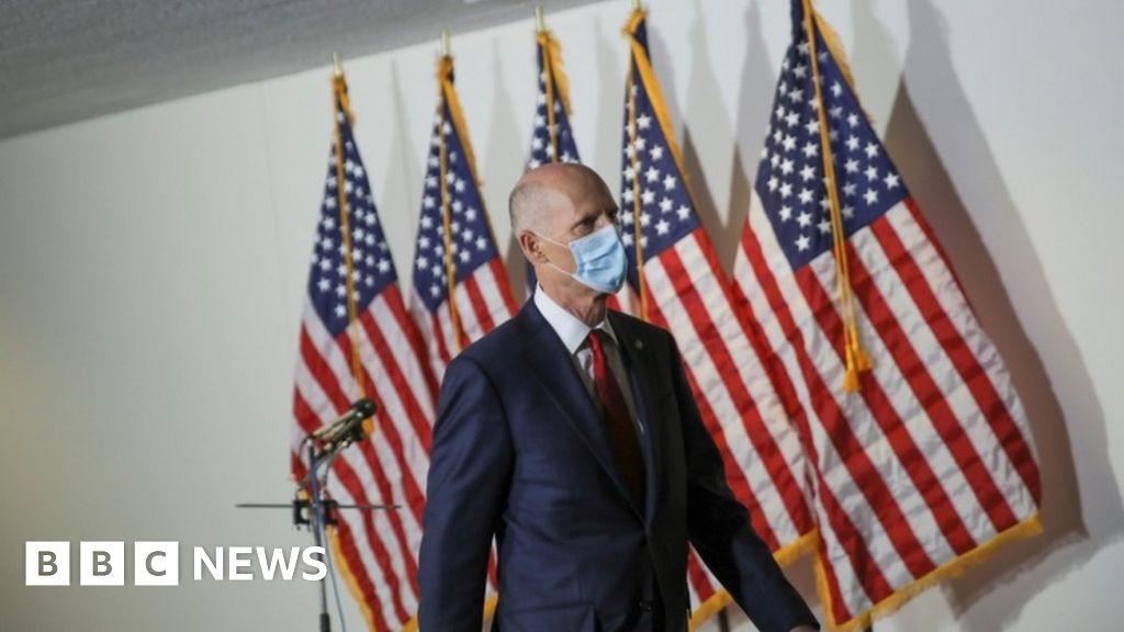 Coronavírus: linha de vírus EUA-China brilha com comentários do senador
