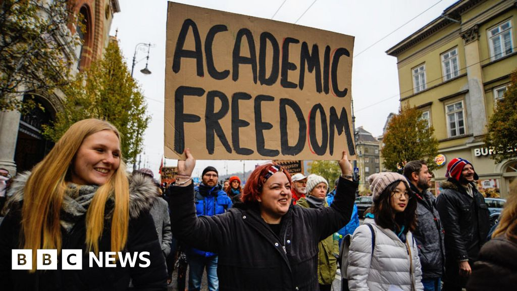 West 'failed' university forced from Hungary