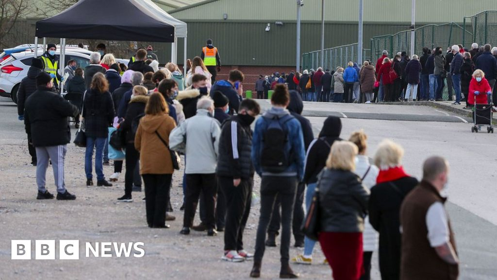 Covid: Liverpool testing trial sites doubled after queues on first day