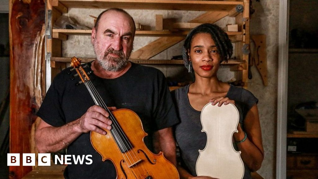 How making a violin brought these two together