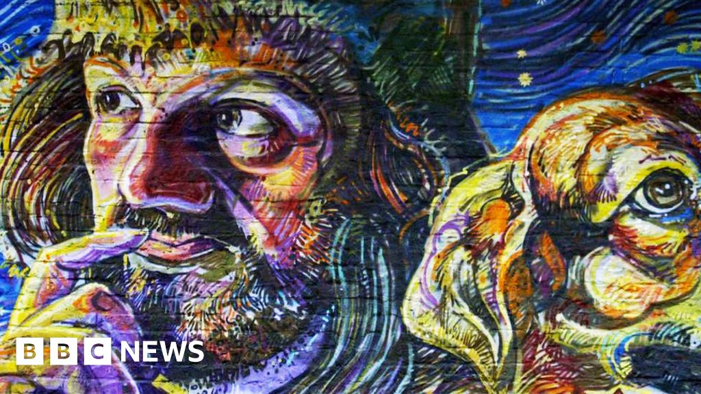 Abandoned Colinton railway tunnel in Edinburgh transformed by mural