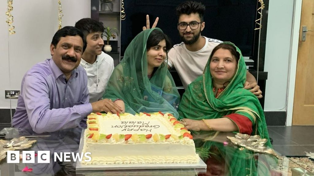 Malala Yousafzai graduates of the University of Oxford