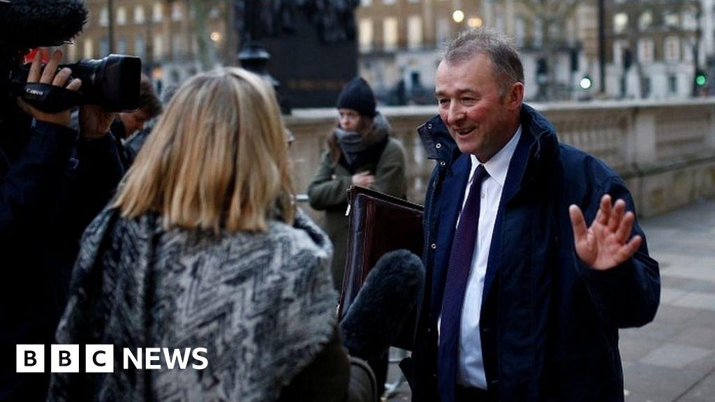 Johnson fills gaps in government mini-reshuffle