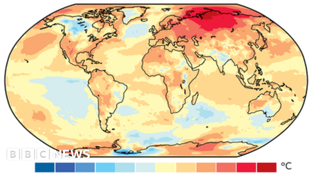 Climate change: 2020 set to be one of the three warmest years on record