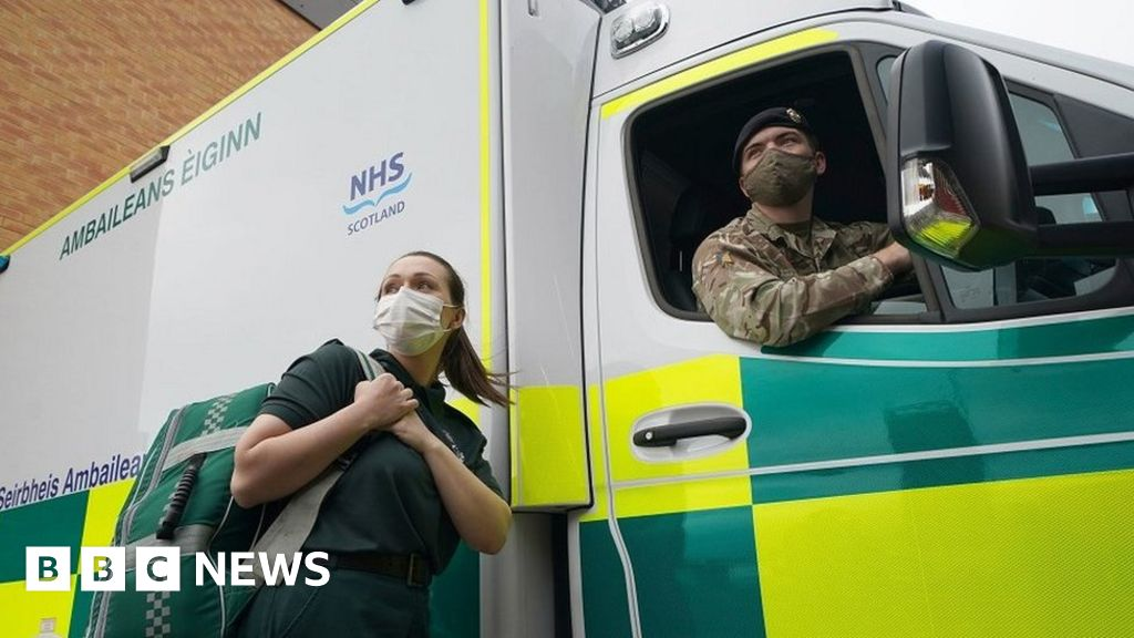 Soldiers available to drive ambulances 'for long run'