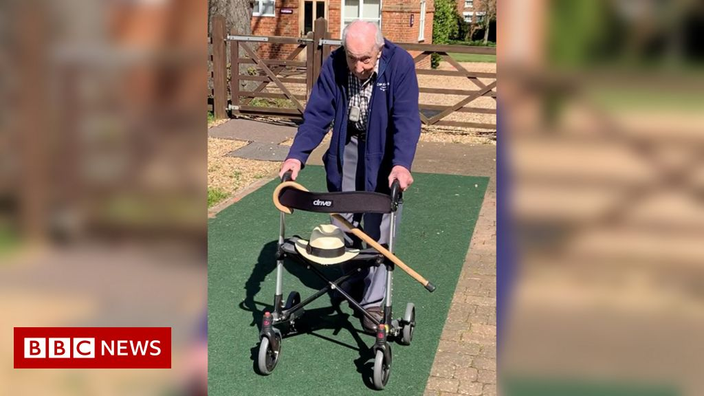 Coronavirus: army veteran, 99,  shattered  £500k NHS target