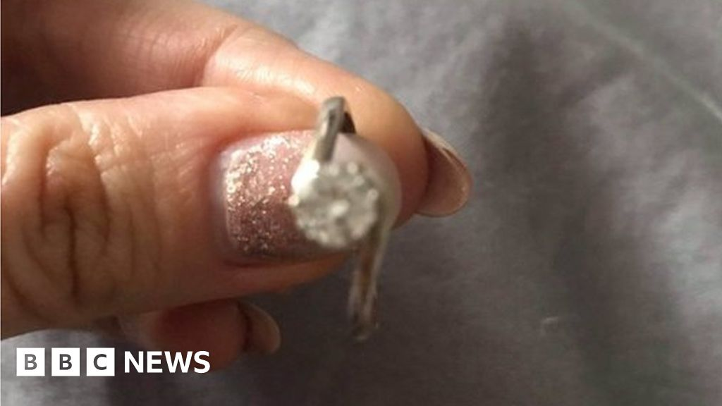 Engagement ring found after Caldicot waste-site search