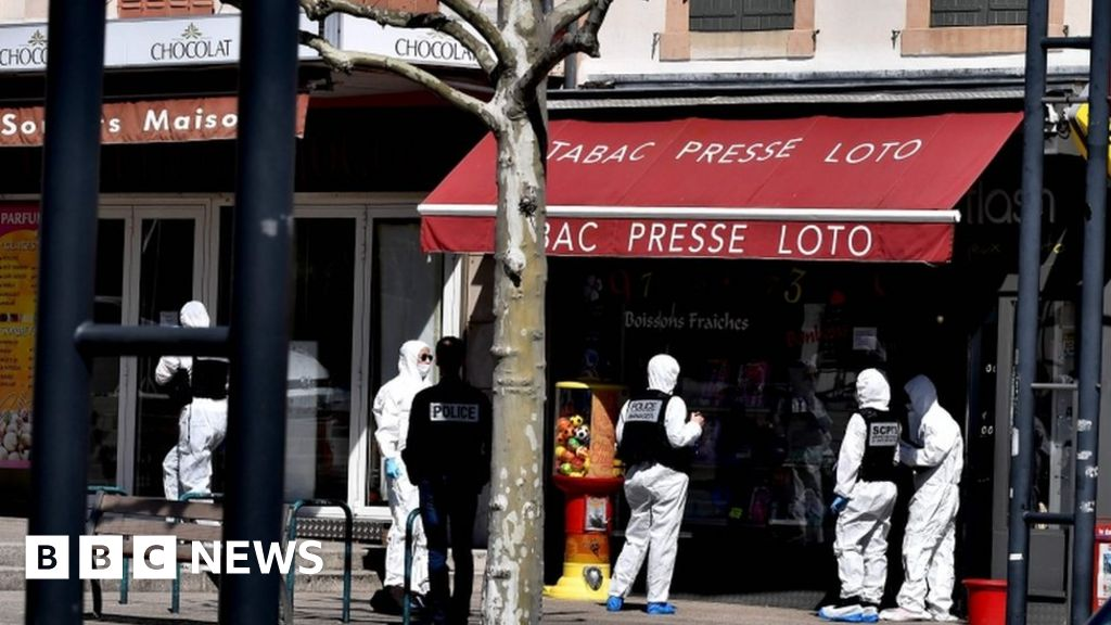 France launches terror probe after knife attack