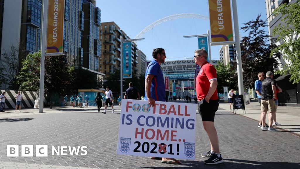 Euro 2020: Excitement builds as England face Croatia in opening game