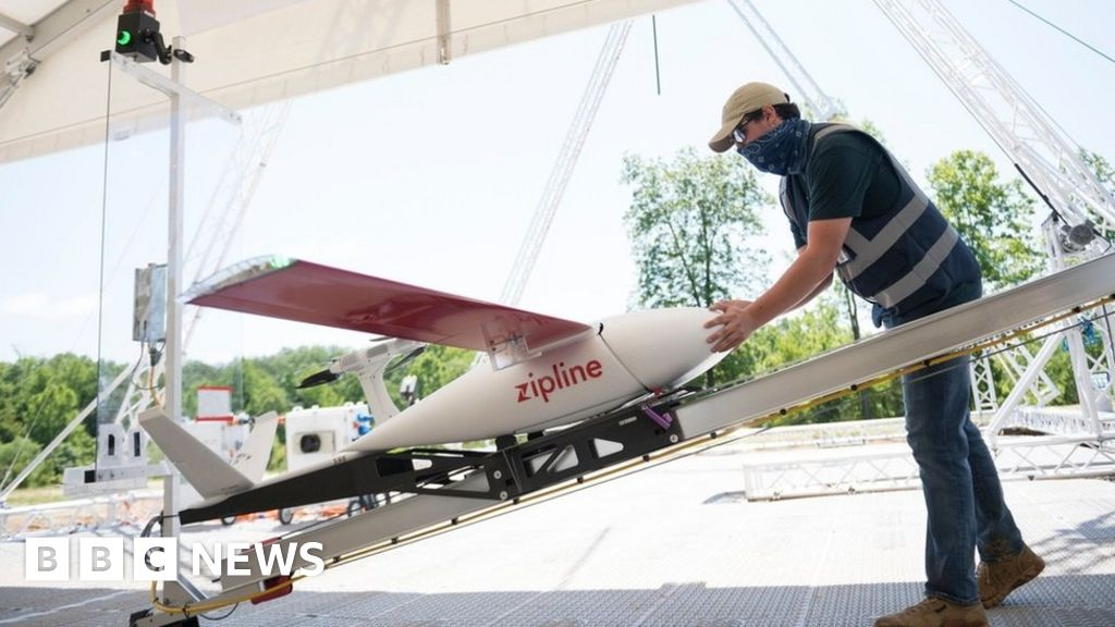 Drones deliver medical supplies and PPE in US