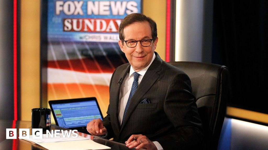 Chris Wallace First Debate Host And Fox Anchor Unloved By Trump Bbc News