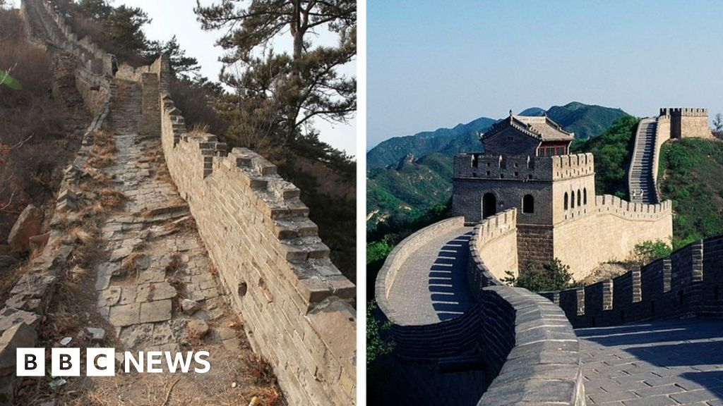 China clamps down on climbing 'wild Great Wall'