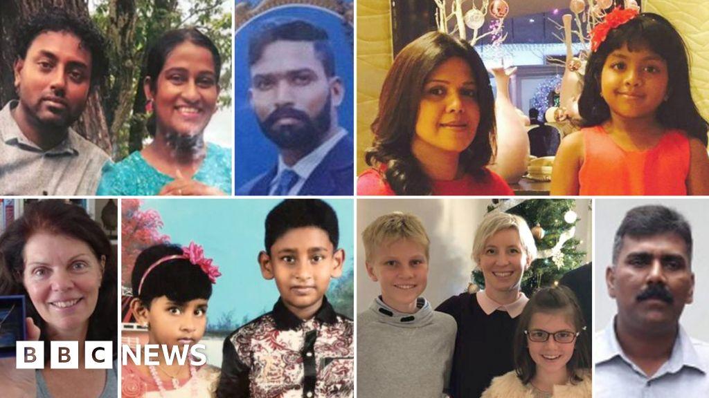 Sri Lanka Attacks Who Are The Victims Bbc News