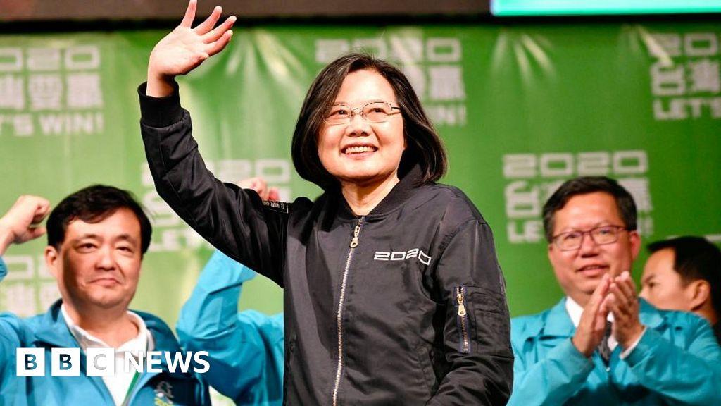 Taiwan election: Tsai Ing-wen wins second term