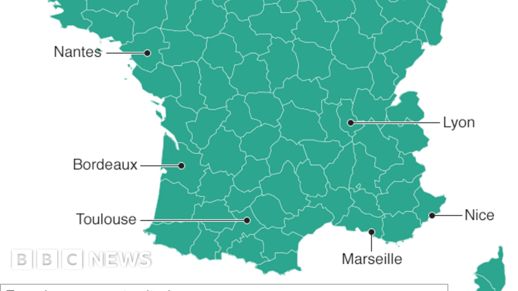 Map Of Uk France.The Maps That Show How France Voted And Why Bbc News