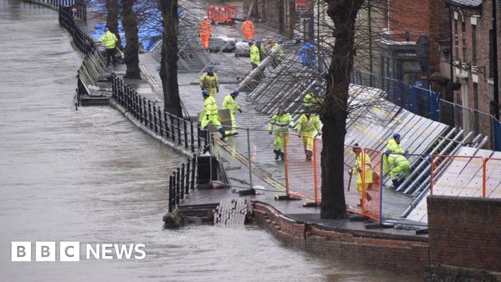 Ironbridge floods: severe weather Jorge fears prompt defenses repair plan