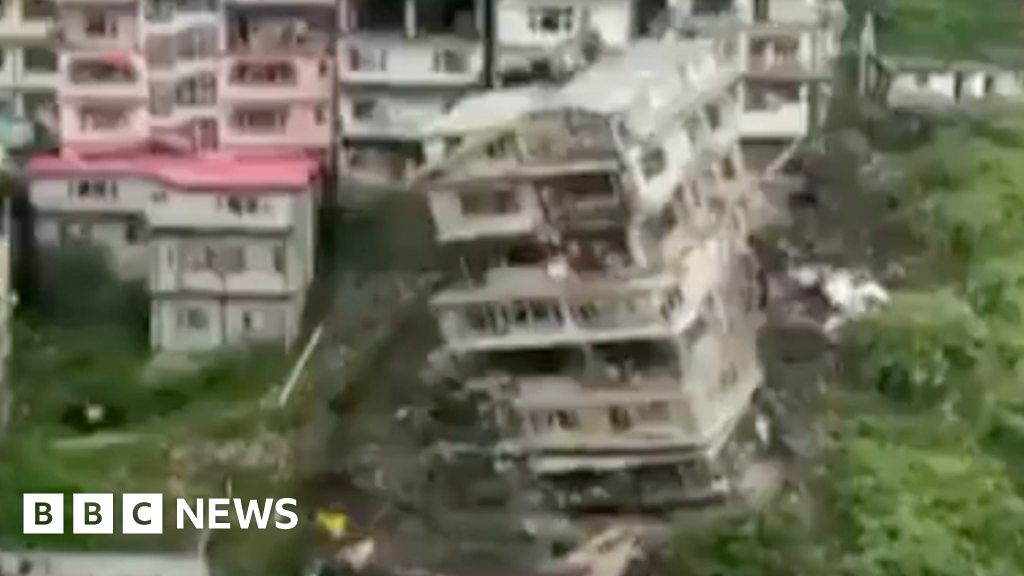 , Shimla: India building collapses hours after it was evacuated, The World Live Breaking News Coverage & Updates IN ENGLISH