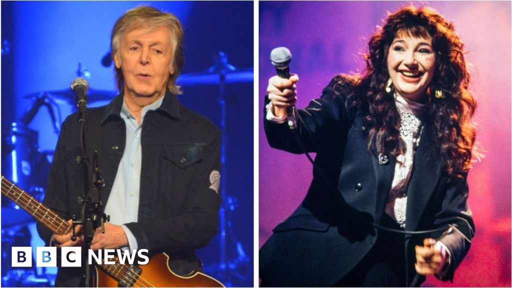 Paul McCartney and Kate Bush among stars calling for change to streaming laws