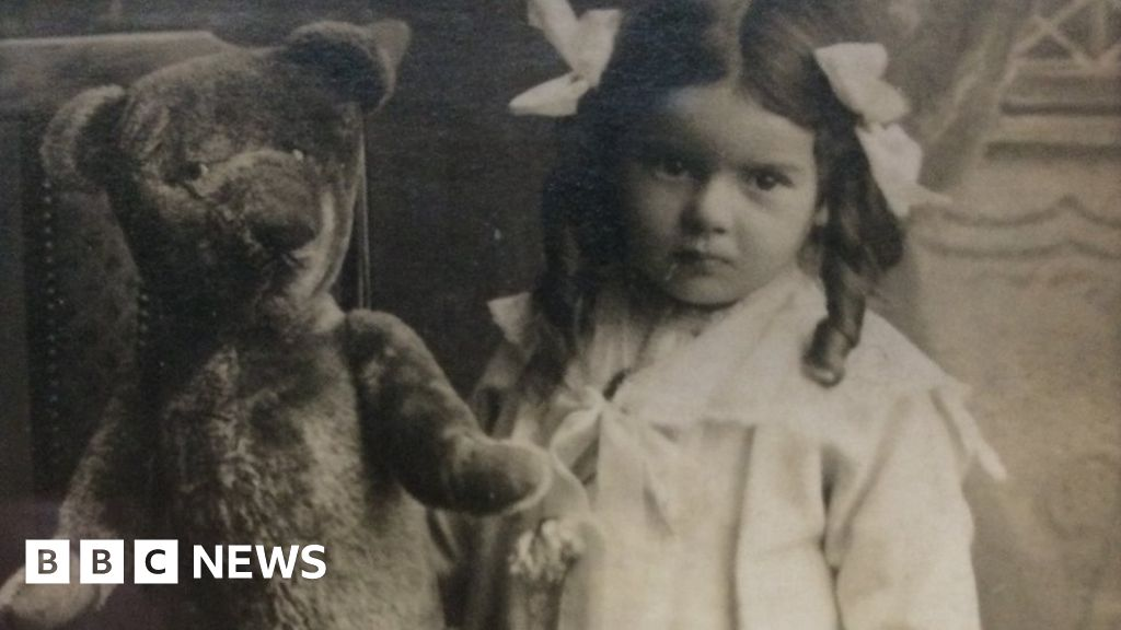 'Treasured' 99-year-old teddy bear to be auctioned