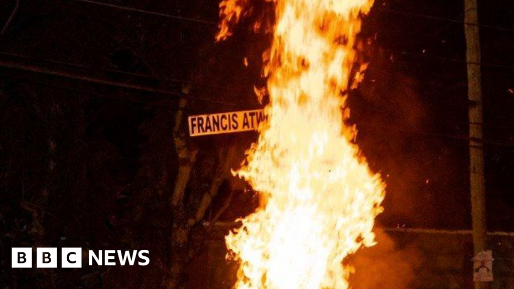 Why a Kenyan road sign has become a burning issue