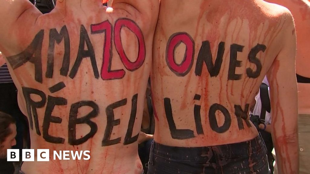 Amazon fires lead to worldwide protests over Brazilian government inaction