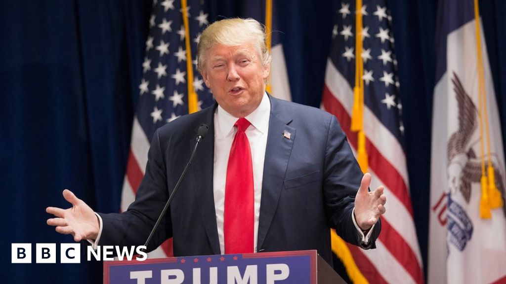 Donald Trump: 24 things the next president believes - BBC News