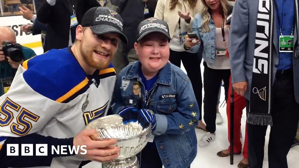 Eleven-year-old super fan shares Stanley Cup win
