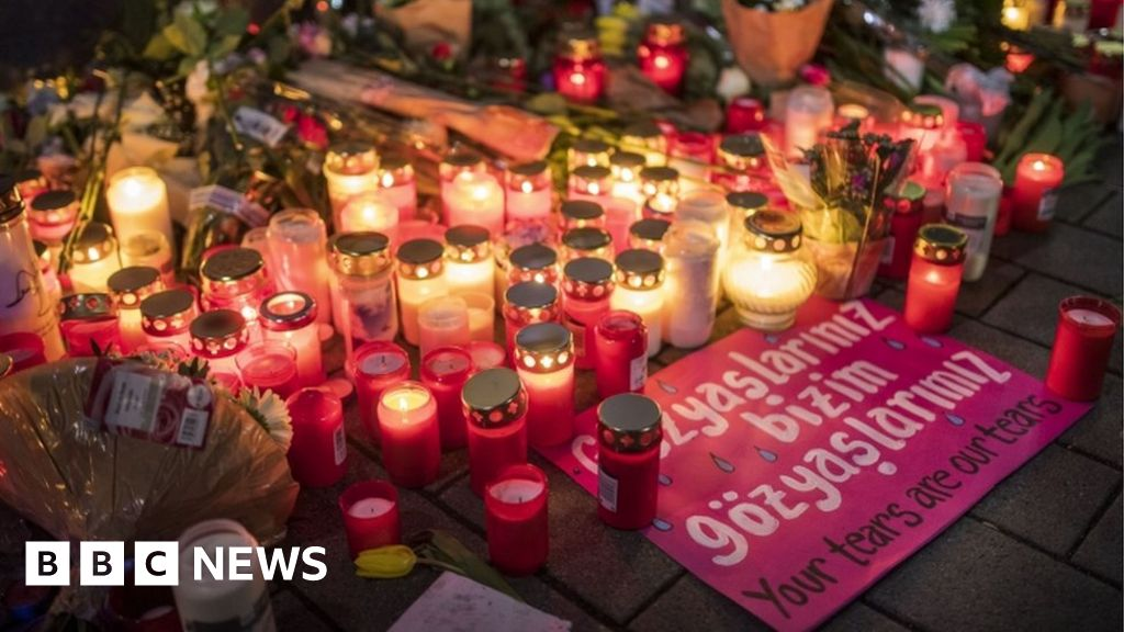 BBC News America German Kurds react to Hanau shootings thumbnail