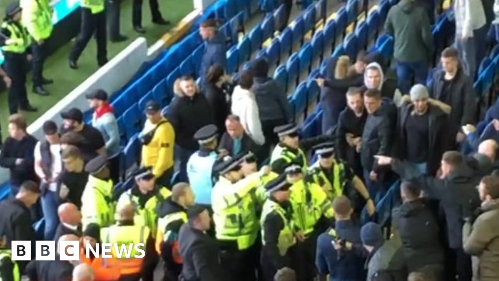 Leeds v Birmingham: police arrested 11 while problems in the game