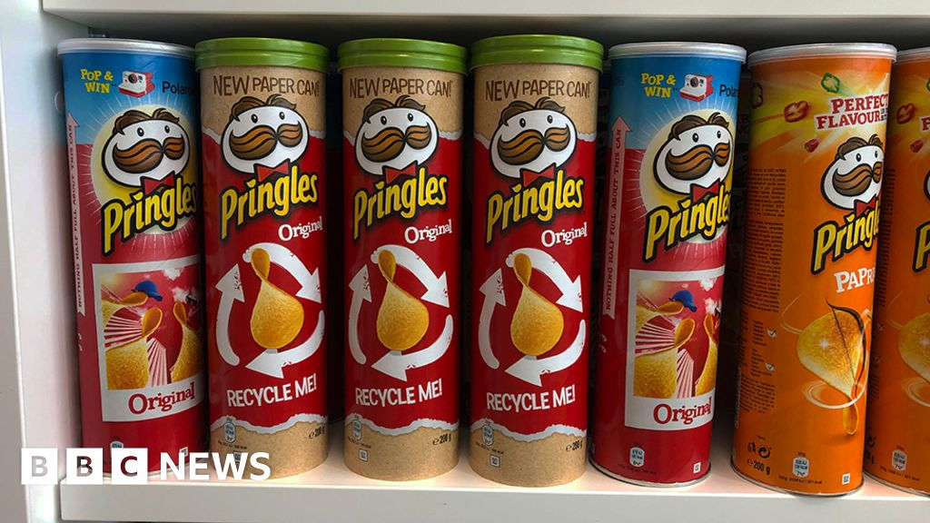 Pringles and Cadbury 'failing on recycled packaging'