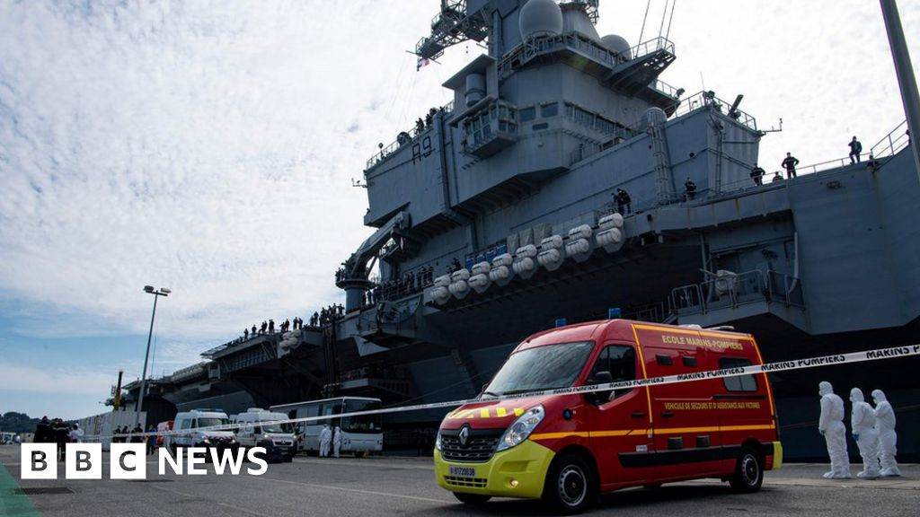 Coronavirus: 668 infected on the French aircraft carrier Charles de Gaulle