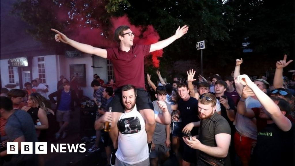 Liverpool followers flock to Anfield to have fun Premier League title thumbnail
