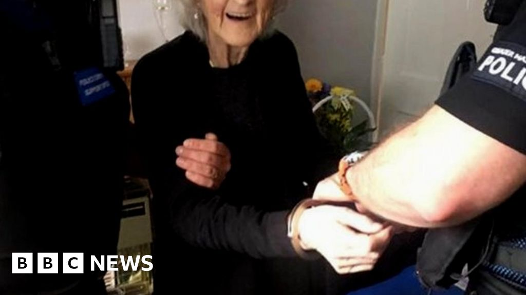 Great-great-gran arrested 'to feel naughty'