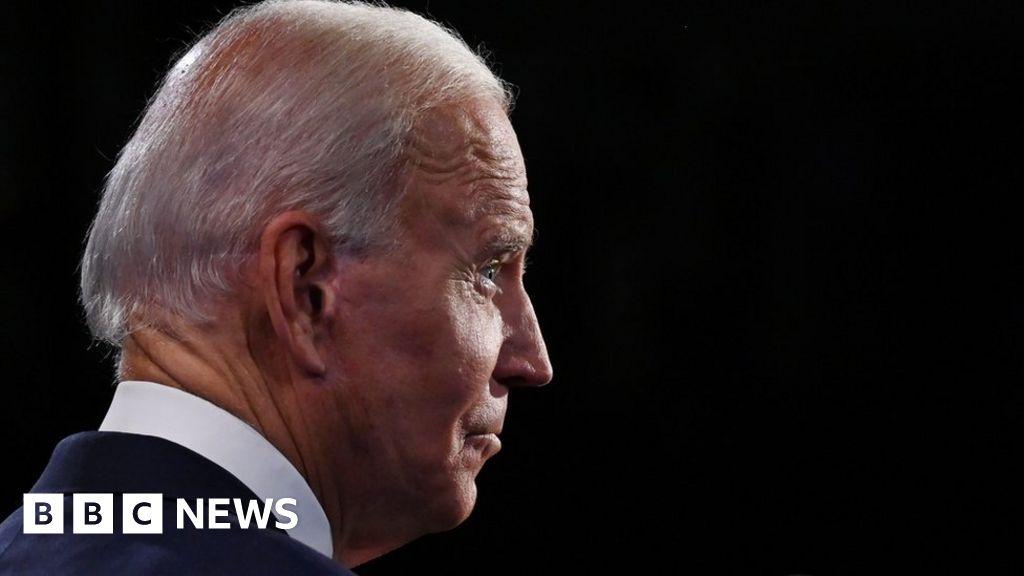 Trump ads push baseless Biden earpiece conspiracy