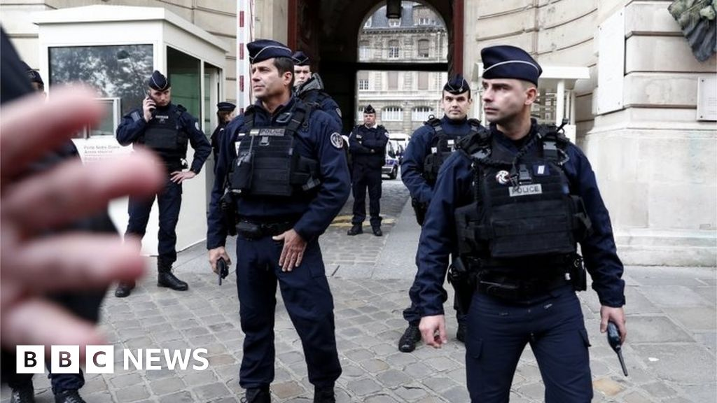 Terror inquiry launched into Paris police attack