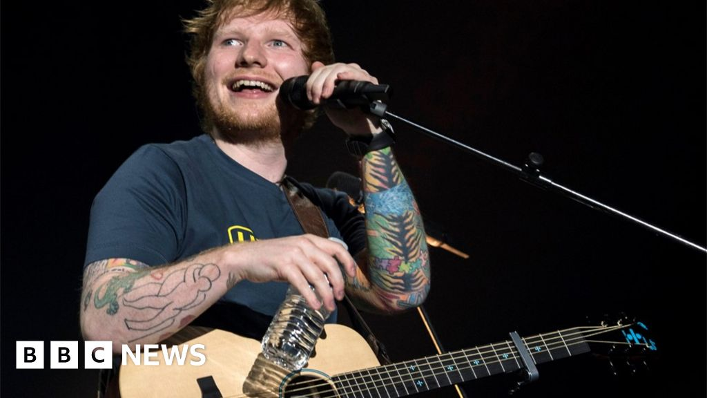 Ed Sheeran settles Photograph copyright infringement claim - BBC News