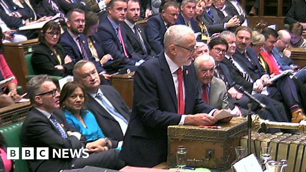 Brexit becomes Corbyn's PMQs focus - BBC News