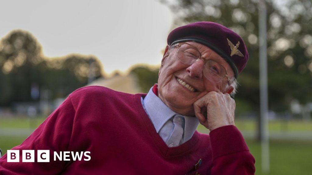 Veteran, 97, hopes to parachute again over Arnhem