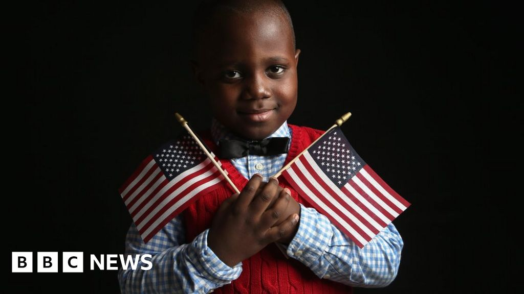 Letter from Africa: How Nigerians obsess about life in the US - BBC News